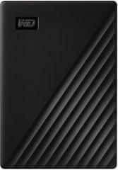 Western Digital My Passport Portable 2TB, čierny (WDBYVG0020BBK-WESN)