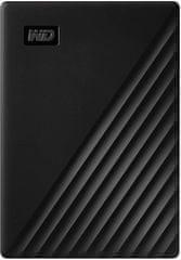 Western Digital dysk zewnętrzny My Passport Portable 4TB, czarny (WDBPKJ0040BBK-WESN)