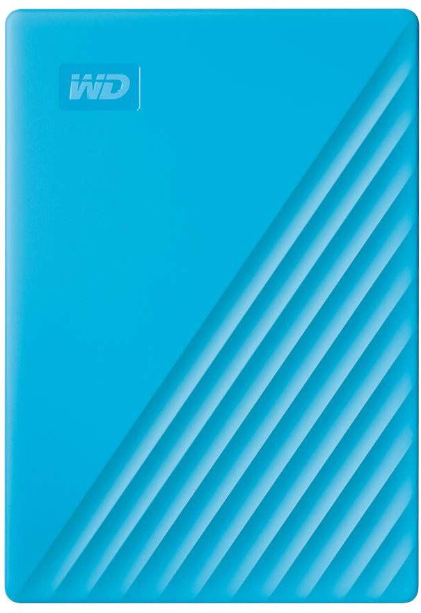 Western Digital My Passport Portable 4TB, modrý (WDBPKJ0040BBL-WESN)