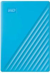 Western Digital My Passport 4 TB prijenosni disk, plavi