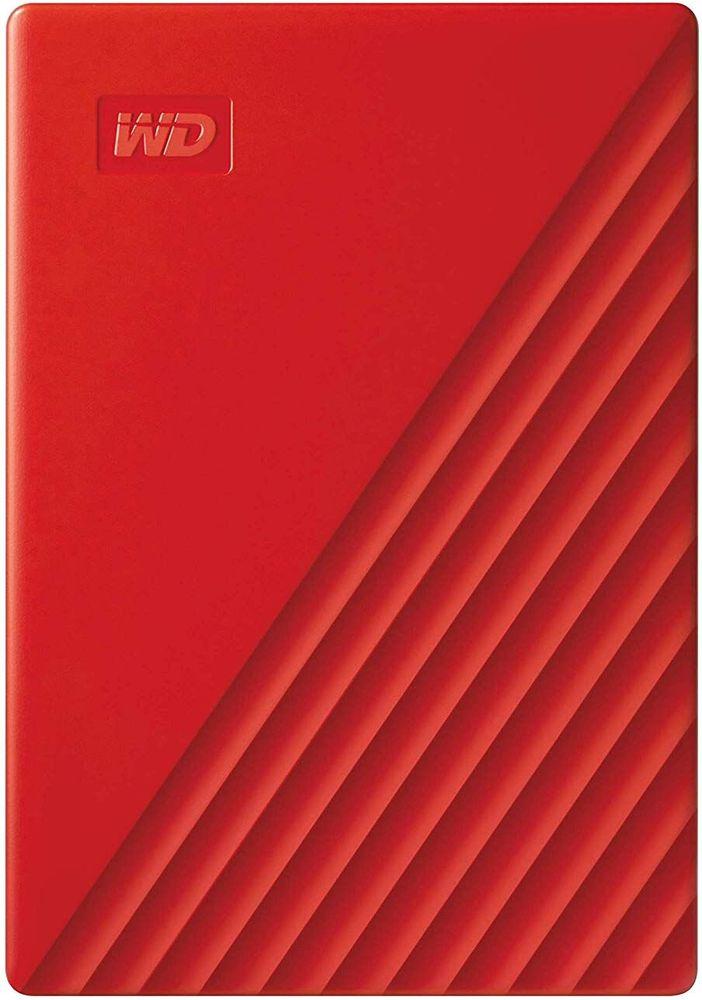 Western Digital My Passport Portable 4TB, červený (WDBPKJ0040BRD-WESN)