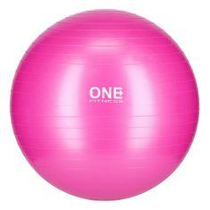 ONE Fitness gymnastická lopta GB10, 55 cm, ružova