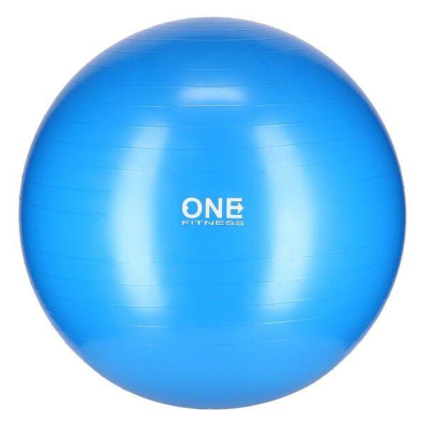 ONE Fitness gymnastický míč GB10, 75 cm, modrý