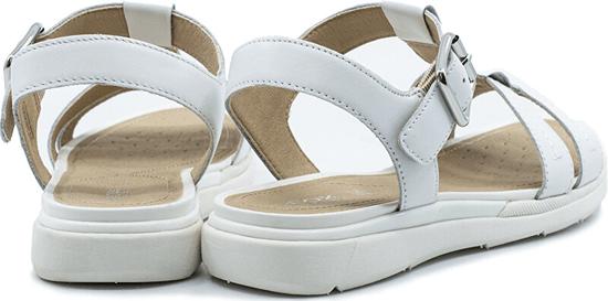 Geox Sandały damskie D Sandał Hiver White D02GZB-00043-C1000