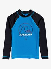 Quiksilver Bbledrlsboy EQKWR03083-BMM0 fantovska majica za kopanje, modra, za 4 leta
