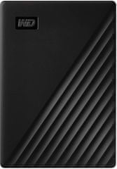 Western Digital My Passport 5 TB prenosni disk, črn