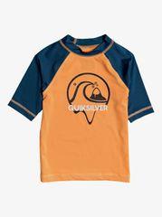 Quiksilver Bbledrlsboy EQKWR03079-NJG0 fantovska majica za kopanje, oranžna, za 4 leta