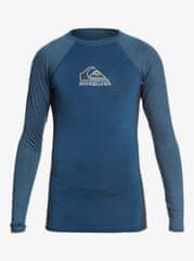 Quiksilver Bkwashlsyth EQBWR03131-BSMH fantovska majica za kopanje, modra, za 8 let