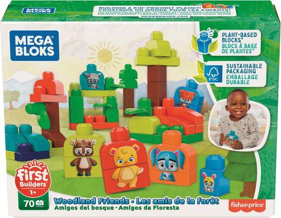 MEGA BLOKS First Builders Erdei barátok