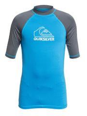 Quiksilver Ontourssyth EQBWR03123-BMM0 fantovska lycra majica za kopanje, modra, za 10 let
