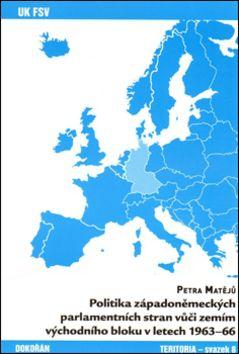 Politika západoněmeckých parlamentních stran vůči zemím východního bloku - v letech 1963-66