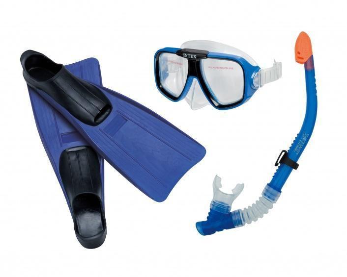 Intex Potapěčský set reef rider Intex 55957 modrý