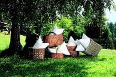 Daunen Step Polštář 40 x 80 cm ze speciálně upraveného polyesteru v bavlněném potahu