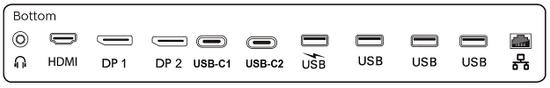 Philips 439P9H SuperWide HDR VA monitor, USB-C