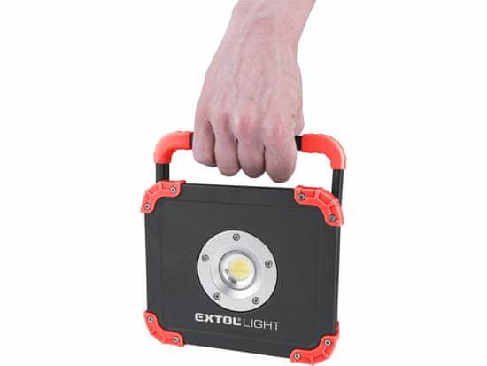 Extol Light Reflector LED nabíjecí s powerbankou, 2000lm
