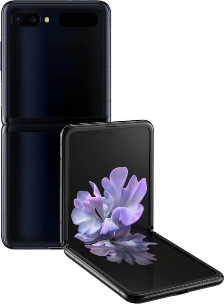 Samsung Galaxy Z Flip, 8GB/256GB, Mirror Black