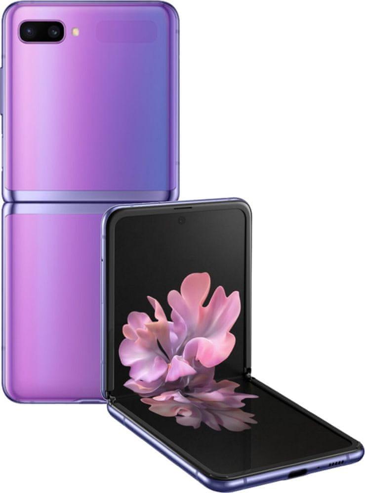 Samsung Galaxy Z Flip, 8GB/256GB, Mirror Purple
