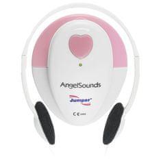 AngelSounds AngelSouns JPD 100S Intercepcja prenatalna, biały / różowy