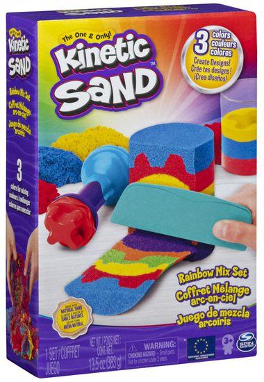 Kinetic Sand komplet Mavrična igra