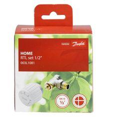 DANFOSS zestaw termostatyczny do ogrzewania podłogowego, 003L1080, DN 15