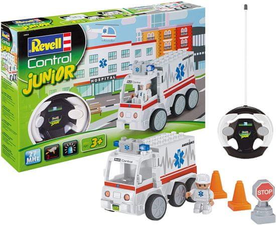 Revell prevozno sredstvo 23013 Junior - Reševalno vozilo