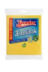 Spontex Antibak Szivacs törlőkendő 3x