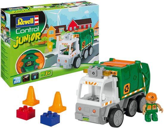 Revell prevozno sredstvo 23015 Junior - Smetarsko vozilo