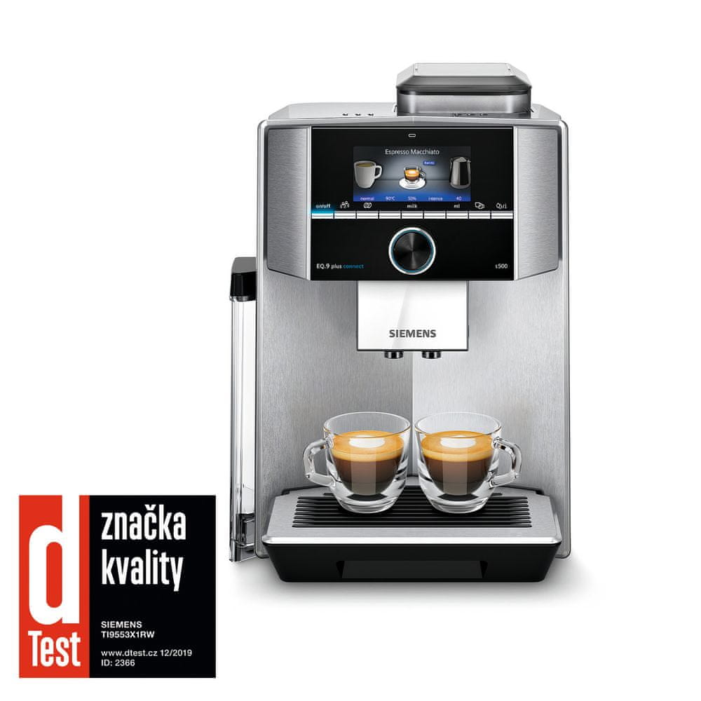 Siemens automatický kávovar TI9553X1RW