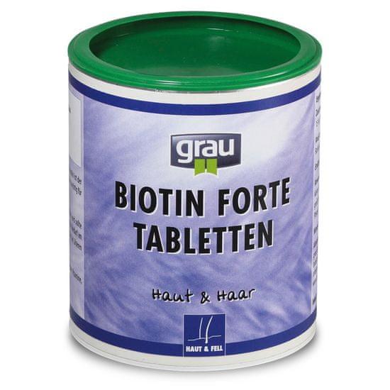 Grau Biotin Forte prehransko dopolnilo, 400 tablet