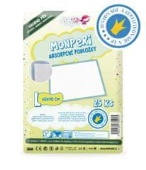 MonPeri Absorpční podložky L 25 ks 60x90 cm