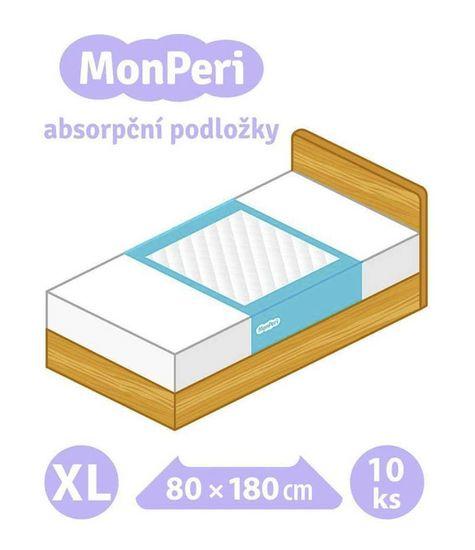 MonPeri absorpční podložky XL (80x180cm) 10ks