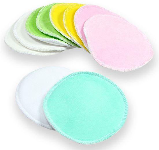 Petit Lulu 5 párů vložek do podprsenky (barevné - velur)