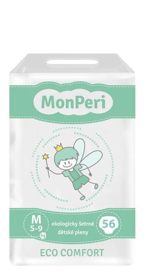 MonPeri jednorázové pleny ECO comfort M (5-9 kg) 56ks