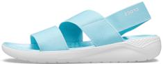 Crocs dámské sandály LiteRide Stretch Sandal W (206081) 38/39 modrá