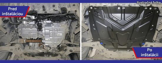 Rival Motorvédő burkolat Kia Sportage 2015- magasabb