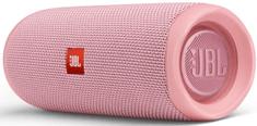 JBL Flip 5, světle růžová