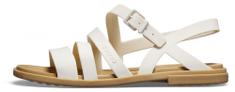 Crocs dámské sandály Tulum Sandal W (206107-1CQ) 36 bílá