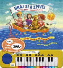 Hraj si a zpívej - Obrázkový zpěvník s elektronickým pianem a mikrofonem