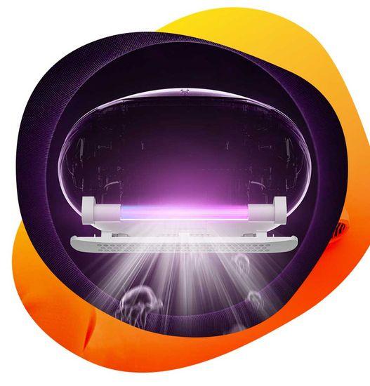 ILOOX MIVAC 800, antibakteriálny vysavač, s UV lampou