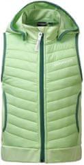 Didriksons1913 dětská vesta D1913 DAGGET 120, světle zelená