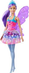 Mattel Barbie Kouzelná víla fialová křídla