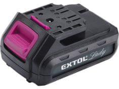 EXTOL Lady akumulátorová batéria 12V, Li-ion, 1300mAh - EXTOL LADY