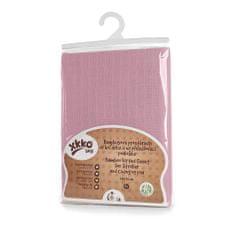 XKKO Ponjava BMB z gumo za voziček 50x70, Baby Pink