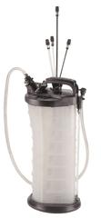 Jonnesway Odsávačka oleje pneumatická / ruční, 9,5 litru - JONNESWAY AE300178