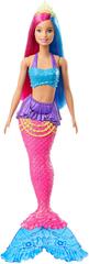 Mattel Barbie Kúzelná morská víla vlasy ružovo-modré
