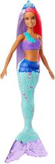 Mattel lalka Barbie Magiczna Syrenka - fioletowo-czerwone włosy