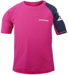 Didriksons1913 dekliška majica D1913 SURF, 80, roza