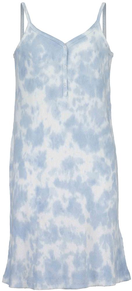 Blue Seven dívčí pletené šaty 164 modrá
