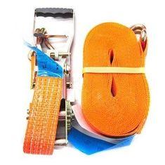 GMP Upínací pás s ergonomickou ERGO ráčnou a háky 5T/10m/50mm