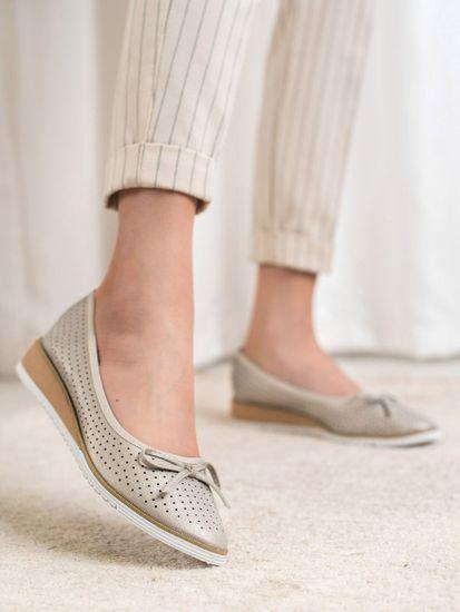 Női balerina cipő 62045 + Nőin zokni Gatta Calzino Strech
